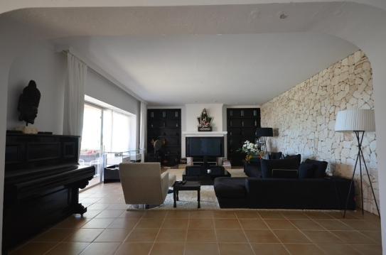 IM 574 Amazing villa on private montain top with view to Ibiza