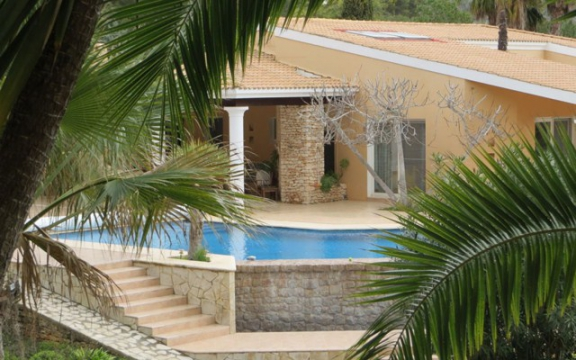 Nice land villa in Sant Carlos